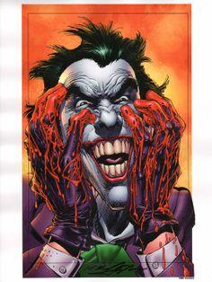 Neal Adams Signed Batman Comic Art Print ~ The Joker