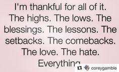 Stop and be thankful for today! #Repost @coreygamble #beingthankful#motivationalquotes#inspirationalquotes#happy