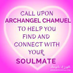 Help my soul mate find me, dear Chamuel. #angels www.angelcardreadingsforyou.com