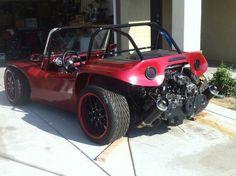 """carsgirlsandboystuff: """"Beach Buggy Subaru motor """""""