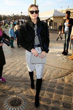 THE OLIVIA PALERMO LOOKBOOK By Marta Martins: Paris Fashion Week 2014 : Olivia Palermo At Nina Ricci