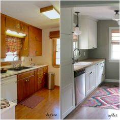 Pin for Later: 9 Kitchens You Won't Believe Are Ikea Butcher Block Beauty