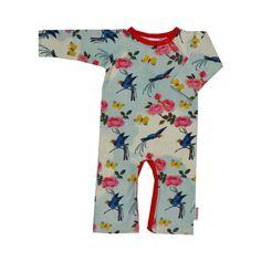 BABA - Bodysuit - Birds rose