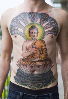 colorful tattoos  bright prints