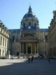 The Sorbonne in Paris. Very beautiful