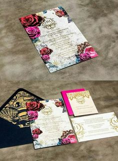 All of your wedding details should express your personality, send a wedding invitation that announces your wedding style. Check out these edgy and striking wedding invitations from BLISS & BONE, tell us what do you think? Mod Wedding, Wedding Paper, Wedding Cards, Fall Wedding, Dream Wedding, Wedding Programs, Luxury Wedding, Elegant Wedding, Rustic Wedding