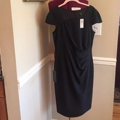NWT Ann Taylor Lined Silk Black Dress, 8 Amazing Silk blend black dress, beautiful with tags attached . Size 8 . Ann Taylor. Found this in my closet and never knew I had it!!!!. Perfect condition. Smoke free. Ann Taylor Dresses