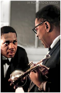 Dizzy Gillespie, Saxophone, Retro, Classic, Fictional Characters, Saxophones, Classical Music, Fantasy Characters, Mid Century