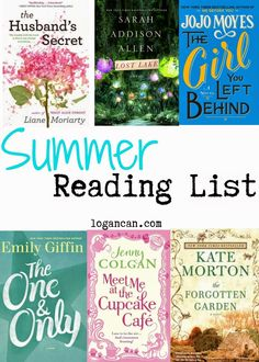 2014 Summer Reading List  logancan.com