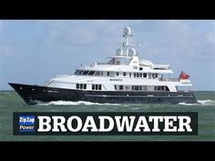 Feadship BROADWATER arriving in Fort Lauderdale - YouTube