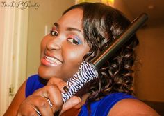 Pretty Curls with KOR Professional Curling Wand