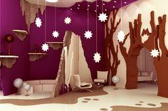 """""""Moominvalley"""", une décoration théatrale et féérique. Kindergarten love"""