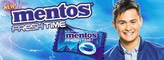 Mentos Fresh Time Philippines Endorser Matteo Guidicelli