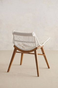 Scrolled Rattan Chair - anthropologie.com