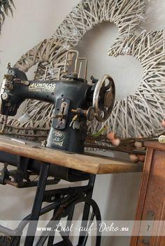 """Ein neues zu Hause für die """"Alte Nähmaschine"""" ✭ LUST auf DEKO"""
