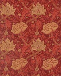 Windrush Dark Red/Brick från William Morris & Co