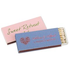 Matches | Custom Personalized Matches & Matchbooks for Any Occasion | ForYourParty.com