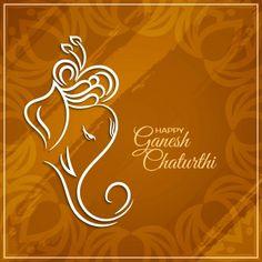 Ganesh Chaturthi Messages, Ganesh Chaturthi Greetings, Happy Ganesh Chaturthi Wishes, Paint Splash Background, Purple Flower Background, Eyes Wallpaper, Wallpaper Space, Sunrise Wallpaper, Beautiful Flowers Wallpapers