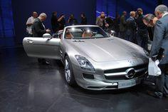 Mercedes-Benz SLS AMG Roadster at the Frankfurt Motor Show IAA 2011
