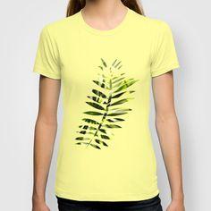 green wellness T-shirt by DagmarMarina - $18.00