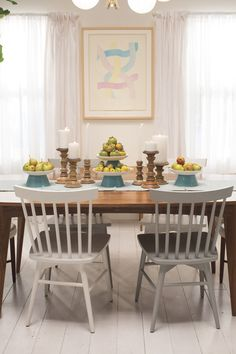 Emily Henderson Rocks Target Styling Chapter  Stack bowls and plates to make these stands for different heights!