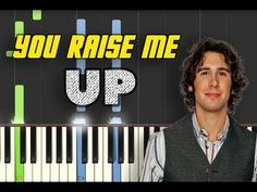 Josh Groban - You Raise Me Up [Piano Tutorial] by Betacustic Piano Songs, Piano Sheet Music, Music Notes, My Music, Music Wall, Piano Lessons, Music Lessons, Film Quotes, Funny Quotes