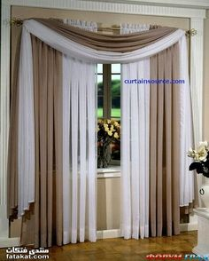 curtains and window treatments Curtains And Draperies, Home Curtains, Drapery, Scarf Curtains, Lined Curtains, Valances, Window Curtains, Living Room Decor Curtains, Living Room Windows