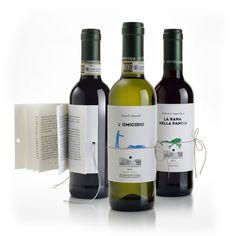 'librottiglia' is a combination of 'libro' and 'bottiglia', italian for 'book' and 'bottle'.
