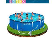 Descubre nuestra tienda y consigue las mejores ofertas del mercado. TOP-PISCINAS pone a su disposición una gran gama de piscinas desmontables para todos los públicos. Trabajamos solo grandes marcas. Aquí te mostramos una piscina de INTEX, con ellas podrás disfrutar del verano al mejor precio. ¡Consigue la tuya! http://www.top-piscinas.com/piscinas-de-pvc-piscinas-intex-metal-frame/piscina-intex-metal-frame-457x122-cm-set-completo-ref-54946.html