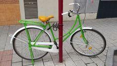 """Bike from Albacete. Bici """"cazada"""" por Urban Ciclo en Albacete."""