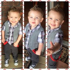15 Super Trendy Baby Boy Haircuts Charming Your Little Ones Personality Little Boy Fashion, Baby Boy Fashion, Toddler Fashion, Fashion Kids, Outfits Niños, Baby Boy Outfits, Kids Outfits, Toddler Haircuts, Little Boy Haircuts