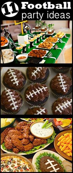 Football Season DIY Party Ideas Celebrate the Super Bowl or a. - Football Season DIY Party Ideas Celebrate the Super Bowl or a team party with th - Super Bowl Party, Football Birthday, Football Food, Football Parties, College Football, Football Cookies, Football Banquet, Football Party Foods, Football Decor