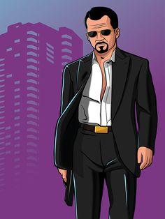 GTA - Vice CIty Nights - Gaks Designs
