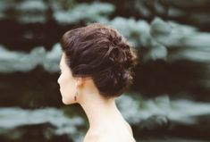 Image result for chignon wedding hair