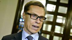 Kokoomuksen puheenjohtaja Alexander Stubb eduskunnassa 9. maaliskuuta.
