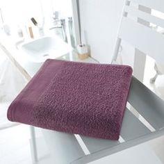 Drap de bain uni 500 g/m² SCENARIO - Linge de bain adulte