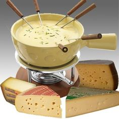 Cheese fondue amarilla Boska + 4 quesos