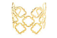 Marrakech Cuff by Kirakira $139, gold-plated bronze...on OneKingsLane.com