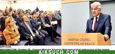 وزیر خارجہ خواجہ آصف کا واشنگٹن میں یو ایس انسٹی ٹیوٹ آف پیس میں خطاب -