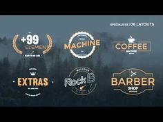 After Effects Template Title Machine Logo Reveal, After Effects Templates, Cnc, Presentation