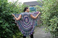30 Beste Afbeeldingen Van Cirkel Vest Crochet Clothes Crochet