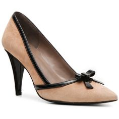 Tahari Alexa Suede Pump Pumps & Heels Women's Shoes - DSW ($70) via Polyvore
