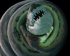 Ha popolato la Terra dopo la scomparsa dei dinosauri: coi suoi 14 metri di lunghezza è il serpente più grande mai esistito.