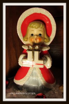 Vintage Christmas Figurine From my Collection
