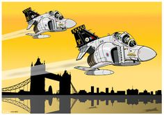 "Air Factory Phantom FGR / 74th of Sqd MKII RAF, the ""aristocracy"" of ""Rhino"""