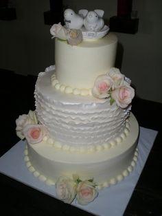 Amanda's Wedding Cake
