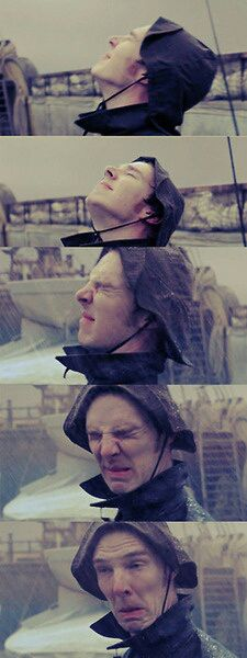 Funny pictures about Benedict Cumberbatch doesn't like the rain. Oh, and cool pics about Benedict Cumberbatch doesn't like the rain. Also, Benedict Cumberbatch doesn't like the rain. Sherlock Holmes, Jim Moriarty, Sherlock John, Watson Sherlock, Johnlock, Baker Street, Martin Freeman, Michael Fassbender, Imitation Game