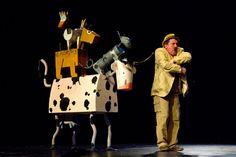 """Teatro infantil. Teloncillo (Valladolid). """"Los animales de Don Baltasar"""". Febrero 2013"""