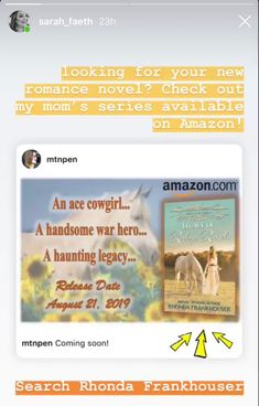 New Romance Novels, Release Date, Ranch, Handsome, Hero, Guest Ranch