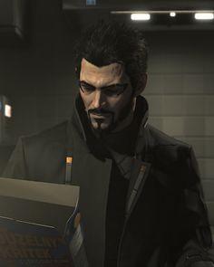 Adam Jensen, Deus Ex Mankind Divided Deus Ex Universe, Deus Ex Mankind Divided, Cyberpunk 2020, Space Pirate, Video Game Characters, Shadowrun, Fantasy Creatures, Pirates, Videogames